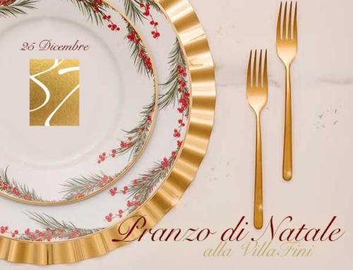 25 Dicembre 2020 Natale Alla VillaFini